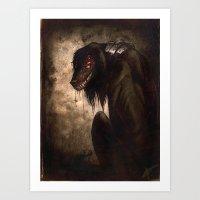 Hellhound Art Print