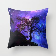 Into  the space Throw Pillow