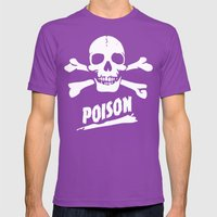 POISON Mens Fitted Tee Ultraviolet SMALL