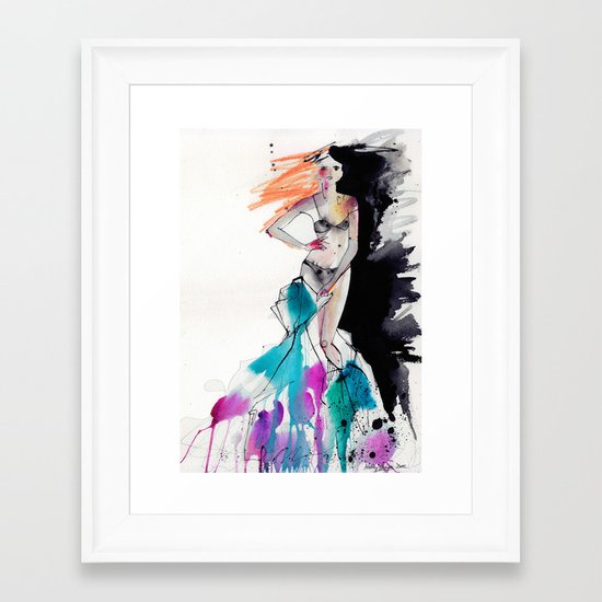 Strip Framed Art Print