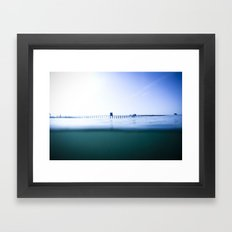 The Oceanside Pier Framed Art Print