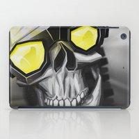 Skull and bones iPad Case