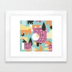 Amanaemonesia Framed Art Print