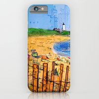 Summer Down The Cape iPhone 6 Slim Case