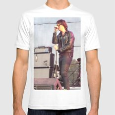 Julian C. - The Strokes Mens Fitted Tee White SMALL