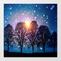 Sounds of winter - HOLIDAZE Canvas Print