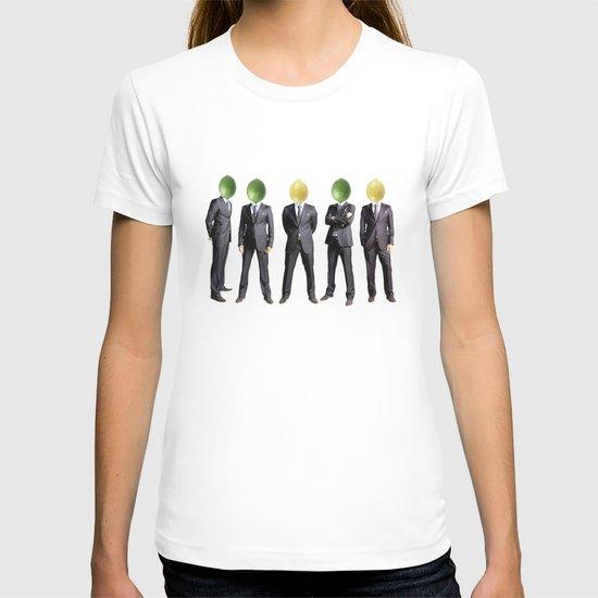 lemon and lime heads T-shirt
