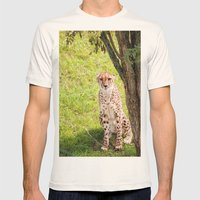 Hey Kitty Mens Fitted Tee Natural SMALL