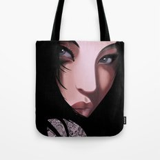 Black Geisha  Tote Bag