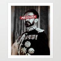 Messiah. Art Print