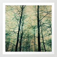 Bare Branches Art Print