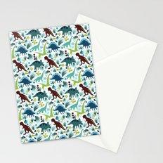 Dinosaur Days (Smaller Print) Stationery Cards
