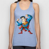 Strong man in Costume Unisex Tank Top