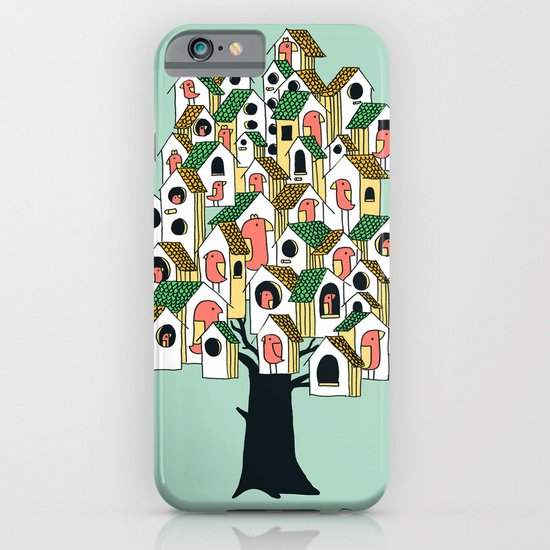 Bird houses iPhone & iPod Case