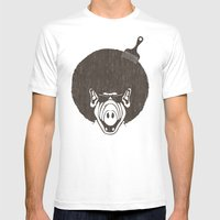 Alfro Mens Fitted Tee White SMALL