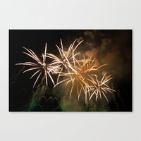 Explosions In The Sky 221 Canvas Print
