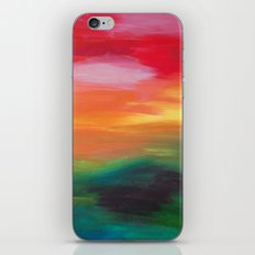 Whats behind the next hill? iPhone & iPod Skin