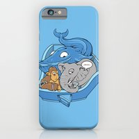 iPhone & iPod Case featuring The Blue Whale in the Room by Peter Donahue
