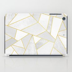 White Stone iPad Case