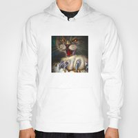 Hoody featuring Cat by Nato Gomes