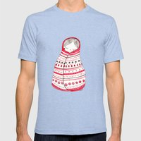 cuddle up Mens Fitted Tee Tri-Blue SMALL