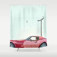 The last mile. Shower Curtain