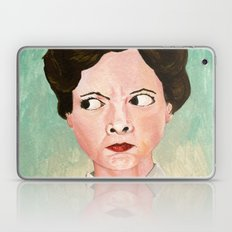 Miss Unbelievably Angry Laptop & iPad Skin