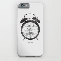 Your Time Is Limited iPhone 6 Slim Case