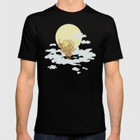 Together We Can Fly Mens Fitted Tee Black SMALL
