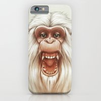 The White Angry Monkey iPhone 6 Slim Case