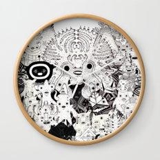 Skool Daze ii Wall Clock