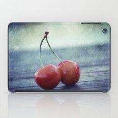 Cherry Kiss iPad Case