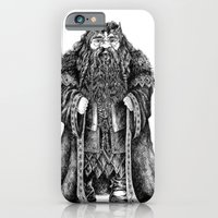iPhone & iPod Case featuring Oakenshield by Anna Tromop Illustration