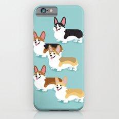 Color me Corgi iPhone 6s Slim Case