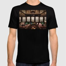 Behind The Wheel Of The … Mens Fitted Tee Black SMALL
