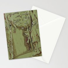 Zombies in the Hall Stationery Cards