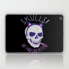 Skulls and Kittens Laptop & iPad Skin