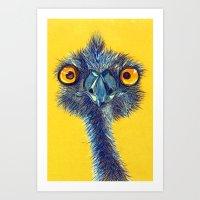 Emu Art Print