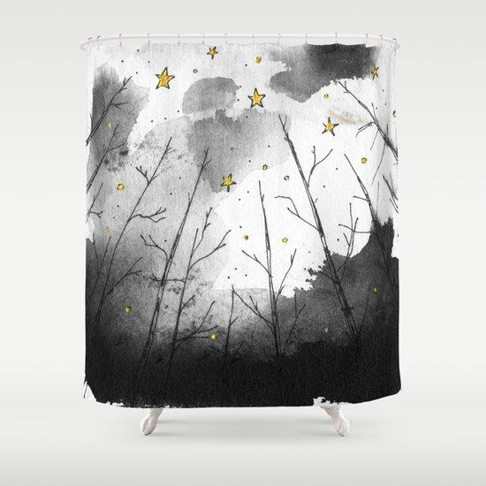 Woods Shower Curtain