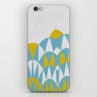 Modern Day Arches Blue A… iPhone & iPod Skin