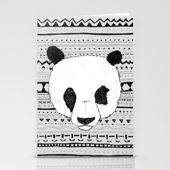 PANDA PATT! Stationery Card