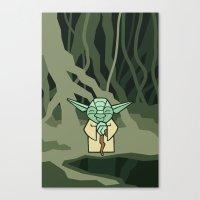 EP5 : Yoda Canvas Print