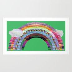 glitchbow Art Print