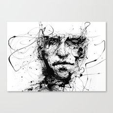 lines hold the memories Canvas Print