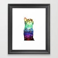 Digby Is A Rainbow Of A … Framed Art Print