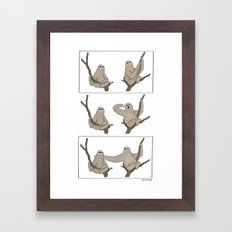 The First Move  Framed Art Print