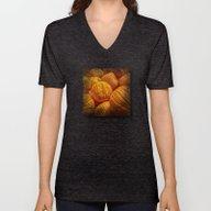 Halloween Pumpkins Unisex V-Neck