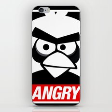 Obey Angry Birds! (Mashup, Parody) iPhone & iPod Skin