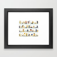 Crazy Seasons Framed Art Print