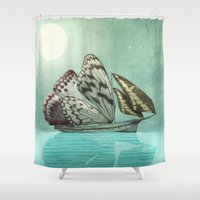 The Voyage Shower Curtain